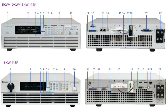 Chroma 62180H-1800S光伏逆变器模拟电源