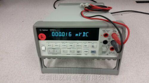 关于回收34401A-维修数字万用表-收购仪器