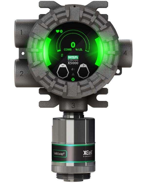 美国梅思安ULTIMA X5000固定式气体探测器
