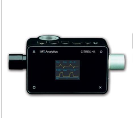 瑞士呼吸機分析儀H4