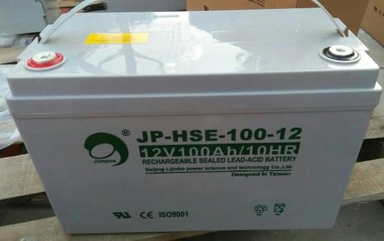 JUMPOO劲博蓄电池JP-6-FM-100现货供应